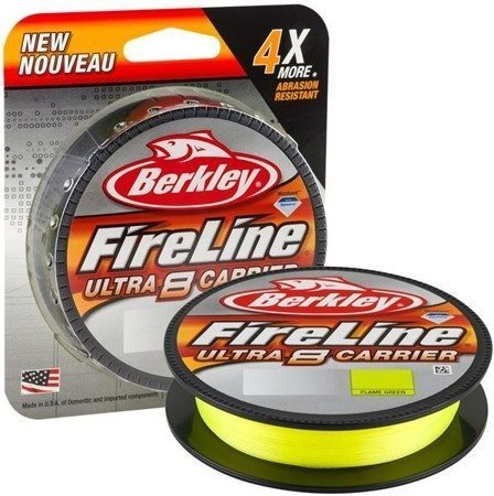 Berkley Plecionka Fireline Ultra 8 150m 0.12 Fl Green