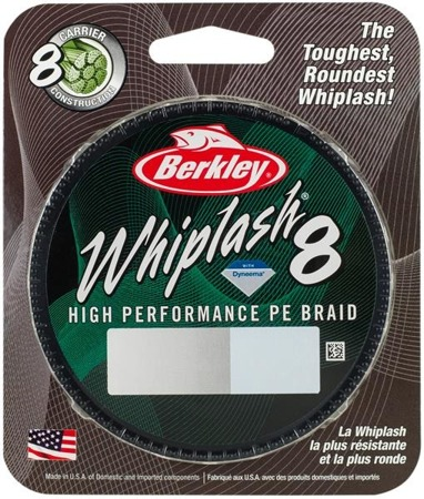 Berkley Plecionka Whiplash 8 150m 0.12 Crystal