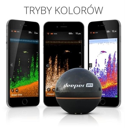 Deeper Pro Smart Sonar Pro - Bezprzewodowa Echosonda