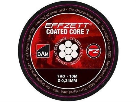 Effzett Material Przyponowy Coated Core7 24kg / 10m