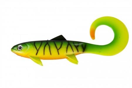 Effzett Pike Seducer Curltail Loose Body 18cm 50g - Firetige