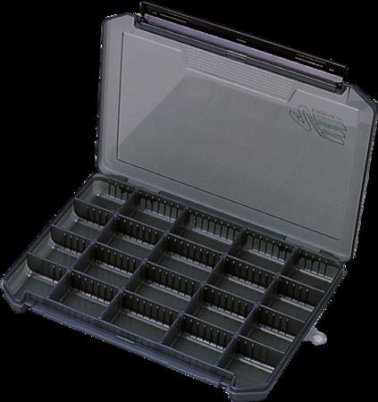 Pudełko Na Przynęty/Akces. Meiho Versus  3020NS Gun Smoke