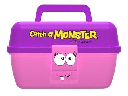 Pudełko Na Przynęty Wędkarskie Dla Dziecka Shakespeare Catch A Monster Różowe