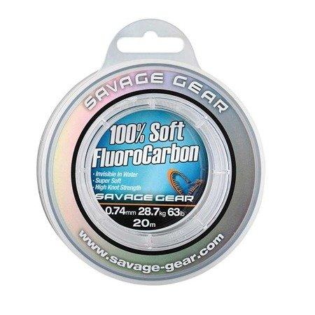 Savage Gear Fluorocarbon Soft 0.74mm 20m 28.7kg