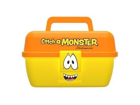 Shakespeare Pudełko Na Przynęty Wędkarskie Dla Dziecka Catch A Monster Pomarańczowo - Żółte
