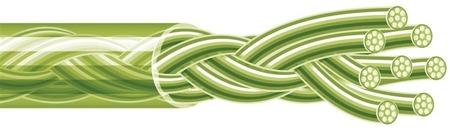 Spiderwire Plecionka Stealth Smooth 8 Moss Green 150m 36.287kg 0,40mm