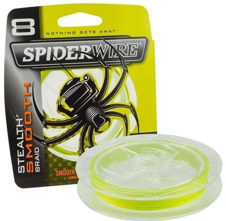 Spiderwire Plecionka Stealth Smooth 8 Yellow 150m 9.071kg 0,17mm