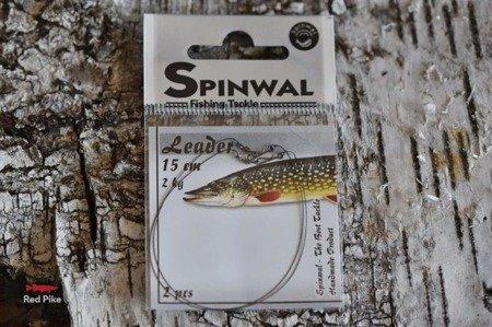 Spinwal Przypon 15 cm 2kg (do paprocha) 2szt
