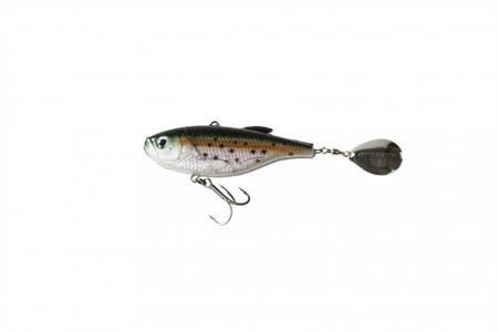 Wirujący Ogonek Effzett Crazy Vibe 6cm 14g - Rainbow Trout