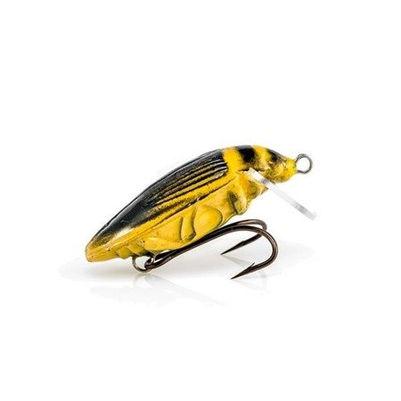 Wobler Imago Pływak Żółtobrzeżek 3,8 Cm Slim Black F