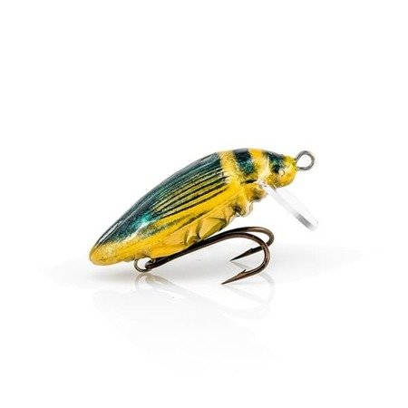 Wobler Imago Pływak Żółtobrzeżek 3,8 Cm Slim Green F